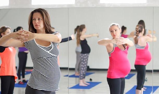 Мягкая йога для беременных
